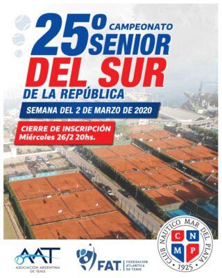 25º Campeonato Senior del Sur de la República